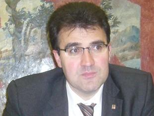 Lluís Salvadó, al seu despatx a l'edifici de la delegació del govern.  L.M