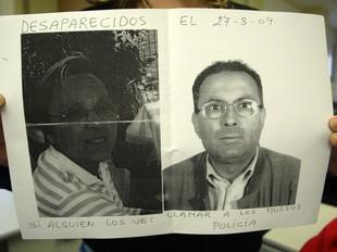 Julia Lamas i el seu cunyat Maurici Font, tots dos veïns dels Pallaresos, que van desaparèixer el 27 de març.  EL PUNT
