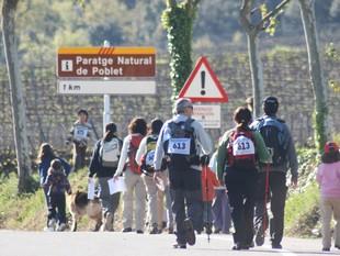 Els participants van recórrer entre quatre i vint-i-sis quilòmetres, en funció de la categoria.  E.MAGRE