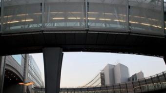 La seu del Parlament a Brussel·les es va ampliar el gener d'aquest any. /  EFE/ OLIVIER HOSLET