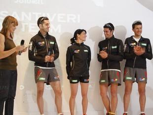 Segarra, Roc, Jiménez, Jornet i Solà, en la presentació. SALOMON