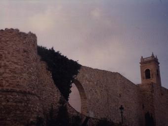 Nucli antic de la ciutat de Calp. /  ARXIU