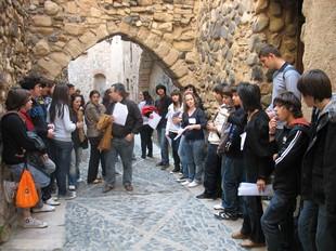 A través de la narració Quan les idees són obsessions els estudiants van conèixer els indrets més importants de Montblanc. N.R