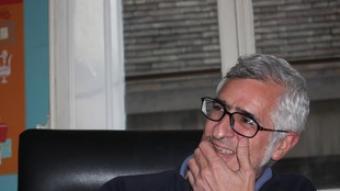 Miguel Gallardo, al seu estudi de Barcelona /  LUIS ALBERTO VILLALBA