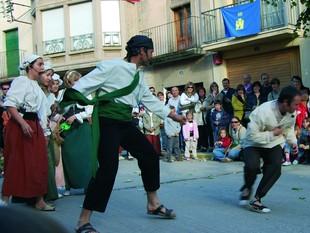 Els espectacles al carrer són part del programa de la Festa del Bandoler de Castellserà.  AJUNTAMENT