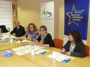 La presentació de la Setmana d'Europa va tenir lloc al Consell Comarcal./  M.L