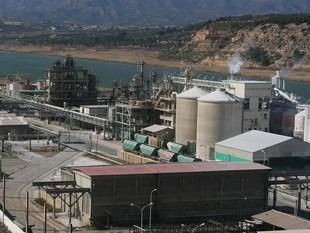 La planta de Flix és la més afectada a Catalunya pel pla d'ajust del grup químic.  EFE