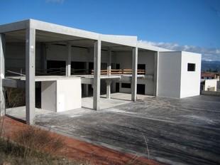 Una imatge de l'espai que ocuparà la sala polivalent de Solsona.
