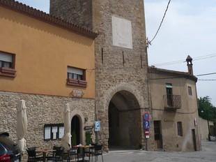Vista general de la Torre de les Hores, ja restaurada. /  A.V