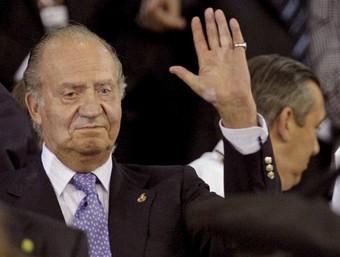 El rei d'Espanya en una recent visita celebrada a la ciutat de València. /  ARXIU