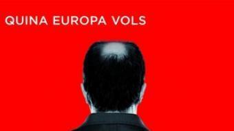 Cartell electoral dels socialistes que es pot veure a les tanques publicitàries des d'ahir.  EL PUNT