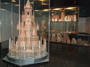 Una de la sales del Museu Diocesà i Comarcal de Solsona.
