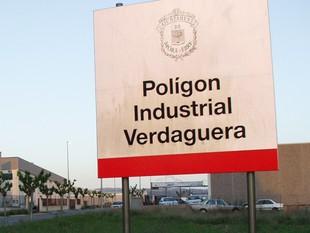 Una imatge del polígon industrial Verdaguera, a Móra d'Ebre.  EL PUNT