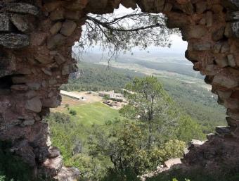 Vista del Penedès des del Castell de Font-rubí ORIOL DURAN