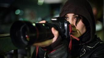 Noomi Rapace (Lisbeth Salander), en una escena de la pel·lícula.
