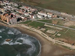 Imatge aèria de la zona on es preveu el nou hotel. /  EL PUNT