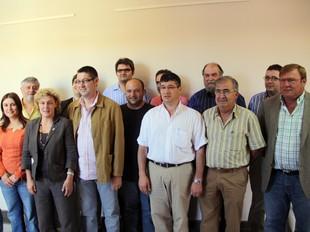 La foto de família dels alcaldes. ACN