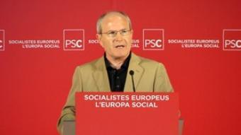 José Montilla, ahir, a Lleida.  ACN