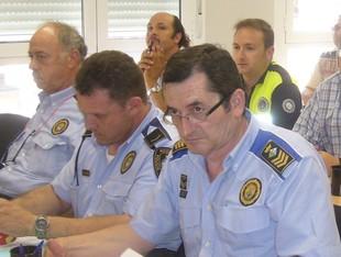 L'Infocat es va presentar a alcaldes i policies de l'Ebre.  L.M