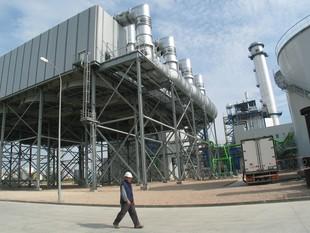 La central tèrmica que Iberdrola té a Tarragona. EFE