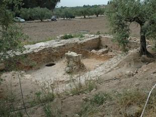 Jaciment romà de Molins Nous, a Riudoms, un dels que s'ha estudiat.  ICAC