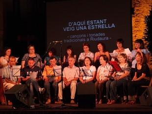 Una de les actuacions dels cantadors de l'edició de l'any passat.  J.C