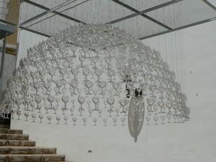 Instal·lació d'Anna Esteve a la Sala Gregori Maians. / . CEDIDA