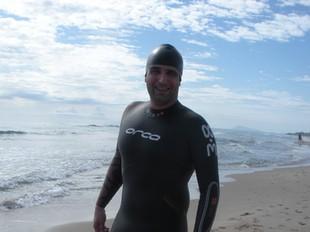 El nadador Pau Tomàs Alberola. /  EL PUNT