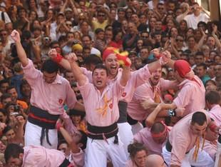 Els Xiquets van ser els grans triomfadors del darrer Sant Magí. /  X.JURIO