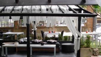 La terrassa del nou Reus Fusió, al passeig Mata.  F.L