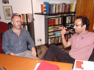 Cantillo amb el seu advocat, Benet Salellas M.B.