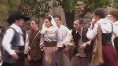 Fotograma de la pel·lícula «Expulsats 1609» rodatge de la qual es va iniciar a principis d'any.