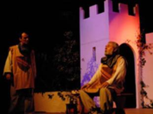 Una escena de la creació teatral -a partir d'una obra de Josep Sebastià Pons- que s'estrenarà durant les Diades Catalanes. /  P. GUIBLAIN