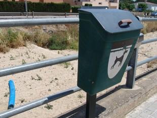 Hi ha papereres instal·lades arreu del terme municipal. /  ARXIU