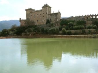 El castell de Riudabella és la seu del negoci, en què es van invertir 500.000 euros.