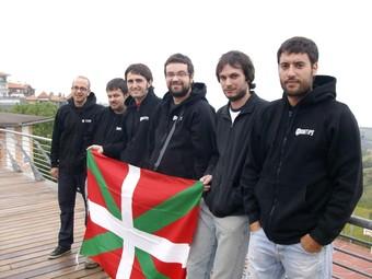 El grup retratat en la seva darrera estada al País Basc.