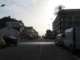 Imatge de l'Avinguda del Mediterrani de la platja d'Oliva. /  CEDIDA