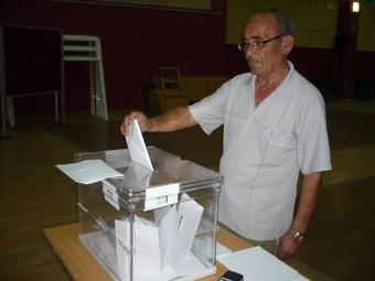 Els organitzadors ja han recollit els primers vots.