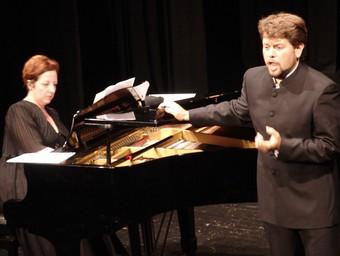 El tenor Roger Padullés és un dels principals protagonistes del llibret.  A. ESTALLO