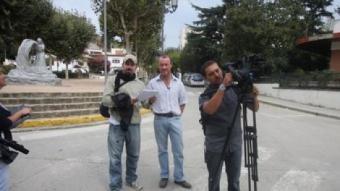 El periodista britànic Gary Gibson /  ORIOL DURAN
