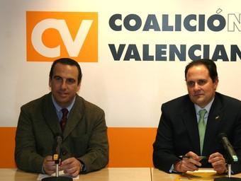 García Sentandreu, a l'esquerra i Manuel Latorre en una foto d'arxiu. /  J. CUÉLLAR