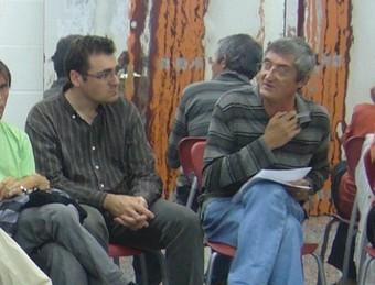 Un moment de l'assemblea, celebrada al centre cívic Banyoles.  R. E
