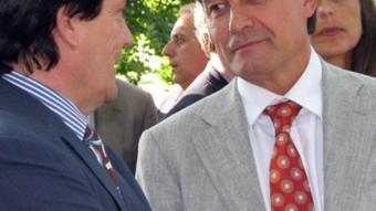 El líder de CiU, Artur Mas, ahir, a Lleida.  ACN