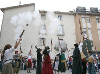 Bandolers, a la festa Torna en Serrallonga, de Sant Hilari Sacalm. LA SELVA COMUNICA