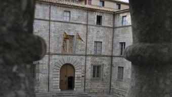L'edifici de l'Audiència on hi havia el capítol catedralici durant l'època de l'ardiaca Andreu Alfonsello.  LL. SERRAT