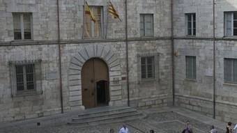 Edifici de l'Audiència on abans hi havia el capítol catedralici.  LLUÍS SERRAT