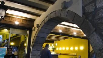 El local de la Rambla on hi havia el cafè Norat, que va ser l'escenari del naixement del Girona.  LLUÍS SERRAT