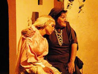 Una escena de «L'amor i el papagai», que es podrà veure aquest divendres a Bao. /  PASCAL GUIBLAIN