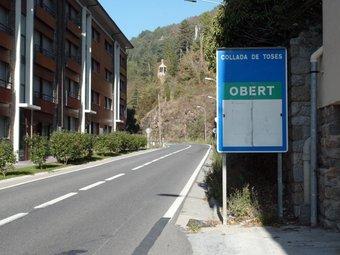 La variant de Ribes de Freser i el túnel de Toses, una obra descartada pel 2011. EUDALD PICAS