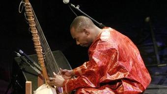 Toumani Diabaté, dijous a l'Auditori.  EUDALD PICAS